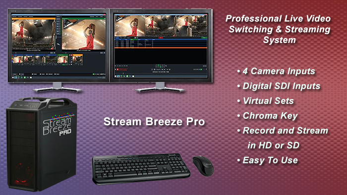 Stream Breeze Pro video production switching system
