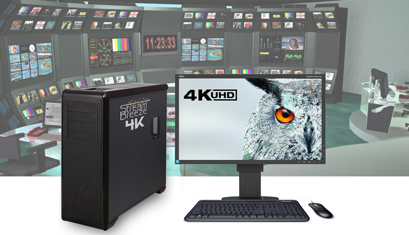 "Stream Breeze Products: ""4k"" 4k input video production switching & streaming system"